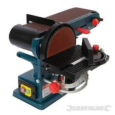 Silverline 972660 Silverstorm 350W Bench Belt & Disc Sander 390mm