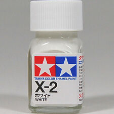 TAMIYA COLOR ENAMEL X-02 X-2 White MODEL KIT PAINT 10ml NEW