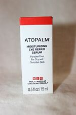 ATOPALM Moisturizing Eye Repair Serum for Dry and Sensitive Skin .5 oz New box