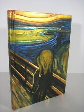 Edvard Munch THE SCREAM Lined Blank Journal Magnetic Closure Foiled Cover