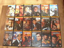 JAMES BOND 007 VHS 90's Collection 18 videos - 16 are Factory SEALED