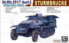 1/35 AFV Club German Sd.Kfz.251/7 Ausf.C Pioneer Assault Bridges #35077