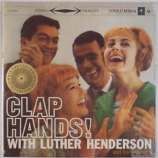 LUTHER HENDERSON: Clap Hands SEALED Columbia Special Products LP 50s Jazz