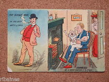 R&L Postcard: The Single Man, The Married Man, Babys, P.B Harlesden