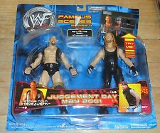 2001 WWF WWE Jakks Undertaker Stone Cold Famous Scenes MOC Wrestling Figures