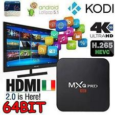 MXQ Pro Android 5.1 Quad Core 2.0GHz 4K Smart TV Box KODI S905 64bit IPTV 1G/8G