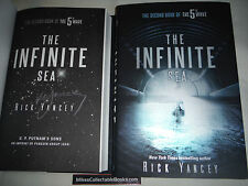 ***Signed 1st Printing/Ed*** The Infinite Sea by Rick Yancey (5th Wave) NEW COA