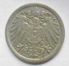 GERMANY 5 PFENNIG COIN 1912 DEUTSCHES REICH COIN