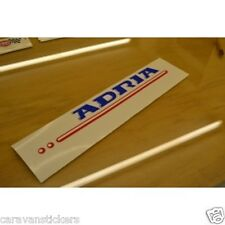 ADRIA Caravan Roof Bar Sticker Decal Graphic - SINGLE