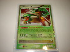 Pokemon diamond & pearl #122/130 torterra lv x ultra rare-mint/nm rare & htf