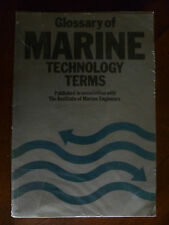 """""""GLOSSARY OF MARINE TECHNOLOGY TERMS""""~THE INSTITUTE of MARINE ENGINEERS-"""