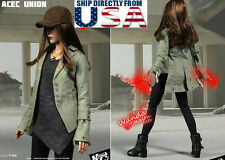 1/6 Scarlet Witch Jacket Set CAPTAIN AMERICA CIVIL WAR For Hot Toys Phicen USA