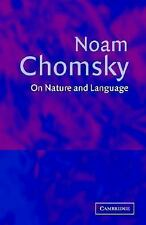 On Nature and Language, Chomsky, Noam, Very Good condition, Book