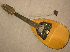 "Very nice old MANDOLIN  by ""Meinel & Herold Klingenthal"" needs repair"