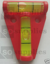 2 WAY MINI SPIRIT LEVEL LEVELLER TOOL TRAILER CARAVAN MOTORHOME CAMPERVAN TABLE