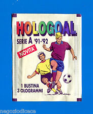 Bustina/Packet - figurine-Stickers - HOLOGOAL 1991-92 - Piena -New