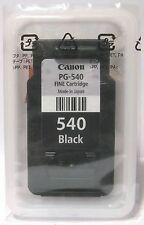 Canon PG-540 PG540 Genuine Black Cartridge. New & Sealed.
