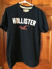 Hollister California Kids T-shirt XL Navy Blue Machine Washable