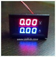 E6 DC 0-100V & 0-10A Digital Voltmeter Ammeter Panel Meter Voltamp 10A Shunt