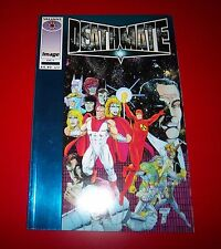 Deathmate Blue Foil Battlestone vs. Magnus Robot Fighter - Valiant 1993 Unread