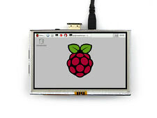 5 inch HDMI LCD 800×480 Resistive Touch Screen LCD For Raspberry Pi BB Black