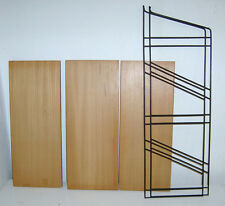 60er Danish Modern STRING REGAL WANDREGAL SYSTEM LADDER SHELF KIRSCHE 60s