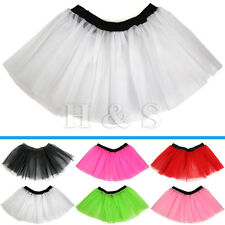 High Quality Tutu Skirt Ladies Women Adults Hen Party 80s Fancy Dress Costume