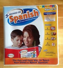 New Hooked on Spanish Program for Ages 4-6 (Red and Yellow Levels)
