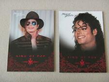Michael Jackson - No 34 & 60 - 2 Panini Trading Cards 2011 *RARE* aus USA