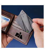 CREDIT CARD TYPE FOLDING KNIFE POCKET KNIFE TRAVEL KNIFE
