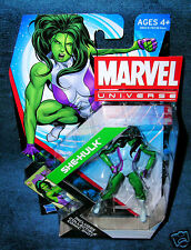 MARVEL UNIVERSE NEW SHE HULK AVENGERS FANTASTIC FOUR JENNIFER WALTERS LEGENDS