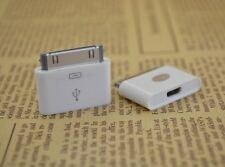 2pcs Conversion adaptor plug From Micro USB to 40P FOR IPHONE 4 4S DATA charging
