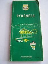GUIDE MICHELIN , PYRENEES 1969 .  EN BON ETAT .