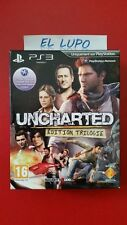 UNCHARTED EDITION TRILOGIE NEUF VF PS3 LIMITEE TRILOGY NEW LIMITED EDITION