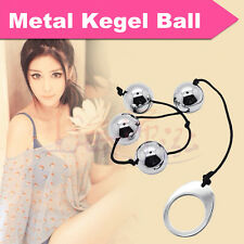 Metal Steel Ben Wa Balls Pussy Muscle Excerciser Training Love Kegel Ball