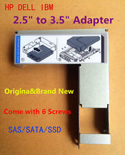 """Dell Original 2.5"""" to 3.5"""" Adapter Bracket 9W8C4 For F238F hard drive Tray Caddy"""