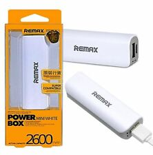 For Apple iPhone 3GS - Portable Backup Battery Power Bank USB 2600 mAh