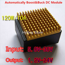 120W 10A DC-DC Buck Boost Converter 5V-30V to 12v 19v 24v DC Converter Regulator