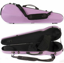 Core 430F Shaped Purple Fiberglass 4/4 Violin Case