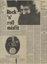 M14/9/74PM24 Jerry garcia : rock 'n' roll misfit Article & Picture(s)