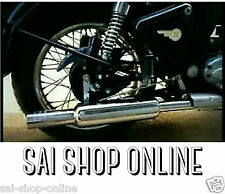 Customised Short Bottle Punjab Silencer/Exhaust for Royal Enfield Bullet RE