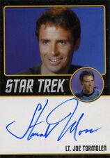 Star Trek TOS 50th Anniversary Autograph Black Stewart Moss as Lt. Joe Tormolen