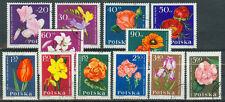 Polen Briefmarken 1964 Gartenblumen Mi.Nr.1541-1552