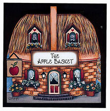Brandywine Collectibles Basket Valley Houses & Shops The Apple Basket