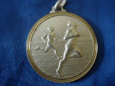 MEDAILLE ATHLETISME SPRINT LANTOSQUE 1989 ALPES MARITIMES