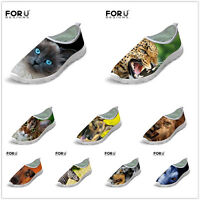 Cool Animal Designer Mens Slip On Summer Trainers Running Sports Fitness Shoes