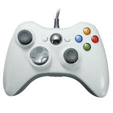 USB Filaire Manette Contrôleur de jeu Pr PC Windows 7 Microsoft Xbox 360 Blanc
