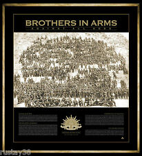 ANZAC SPIRT BROTHERS IN ARMS 100 YEARS OF GALLIPOLI LIMITED PRINT CHEOPS PYRAMID
