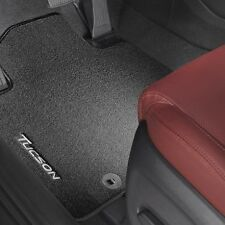 New Hyundai Tucson carpet mats Genuine Hyundai With Tucson Logo Set Front & Rear