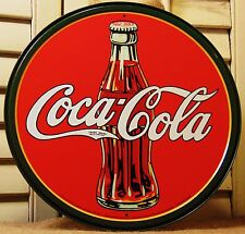 Coca Cola Tin Sign Advertising Reproduction Kitchen Country Vintage Decor  #552